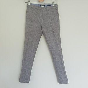 crewcuts 100% linen boys pants